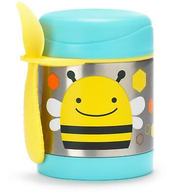 Skip Hop ZOO INSULATED FOOD JAR - BEE Toddler Feeding Storage BNIP