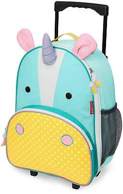 Skip Hop ZOO LUGGAGE KIDS ROLLING SUITCASE - UNICORN Toddler Children Bag BNIP