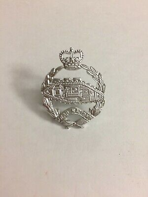 British Army Cap Badge Staybright Royal Armoured Corps