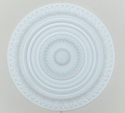 66.5 CM  Large Ceiling Rose Polystyrene Easy Fit Lightweight 'VERSAILLES'