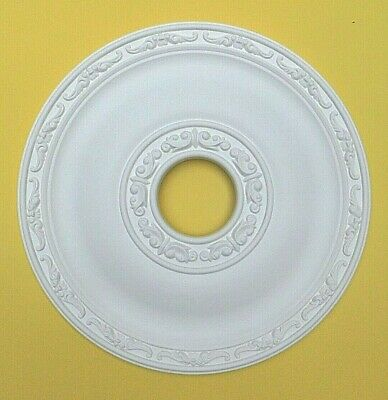 Ceiling Rose - Strong Lightweight Resin - (Not Polystyrene) Size 40.5CM 'JULY'
