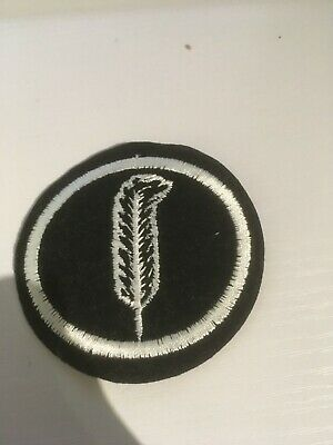 Feather Sew On/Iron On Patch