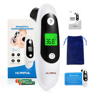 Digital LCD Ear Thermometer Medical Adult Body Safe Temperature for baby Child