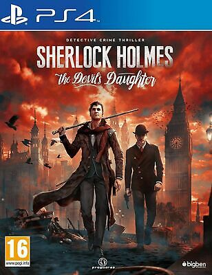 Sherlock Holmes - The Devil's Daughter (PS4) Game | BRAND NEW | FAST FREE POST