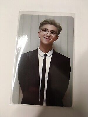 BTS Memories of 2018 official photocard RM