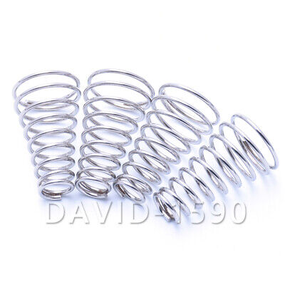 0.3- 2.0mm Wire Dia. Tower Spring Conical Compression Spring 304 Stainless Steel