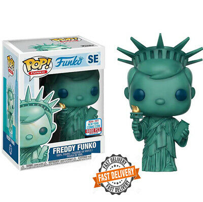 FUNKO POP NEW Freddy Statue Of Liberty Vinyl Figure Model Toy with IN Box New