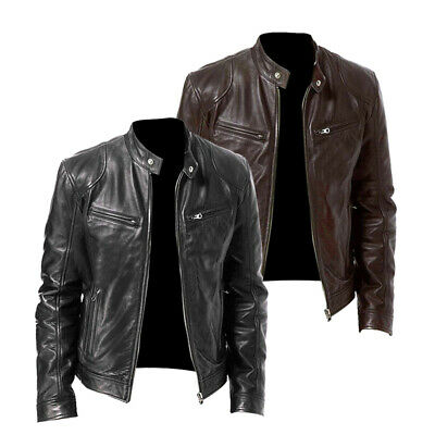 Men's Coats Jackets Motorcycle Autumn Coats Plus Size Casual Long Sleeve