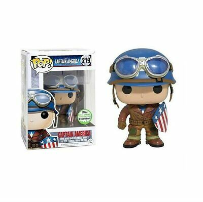 FUNKO Pop CAPTAIN AMERICA Boy Model Figure Collectible Model Toy 2019 Action Fig
