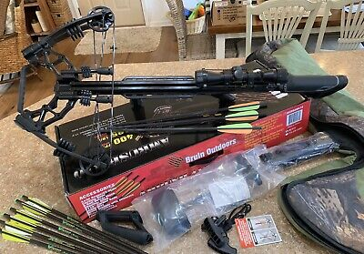 Bruin Ambush 410 Crossbow Package Including Case
