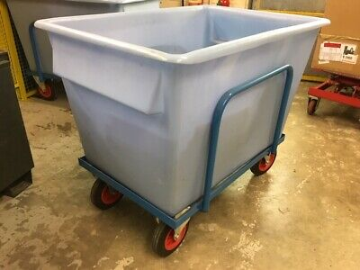 Heavy Duty Plastic Container Truck