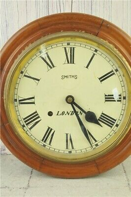 """Vintage Smiths Wall Clock """"Spares and Repairs"""" or Restoration Project"""