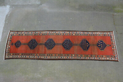 Teppich ANTIK 343 x107 Flur Läufer lang Medaillon antique runner rug long orient
