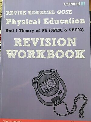 Edexcel GCSE Physical Education unit 1 theory of PE Revision Workbook Pearson