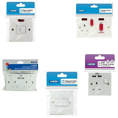 Best Quality Electrical Plug Wall Switches & Sockets With Usb Charging Ports Uk
