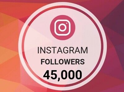 IG 45,000 Followers | Shoutout, Fast Delivery