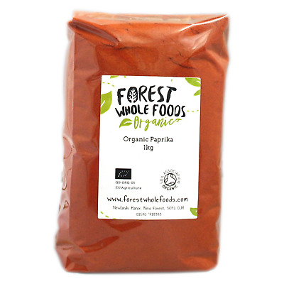 Organico Paprika 10kg - Forest Whole Foods