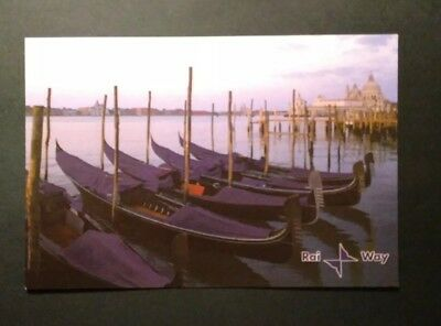 Cartolina QSL Rai Way immagine di VENEZIA