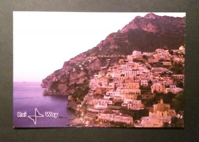 Cartolina QSL Rai Way immagine di POSITANO