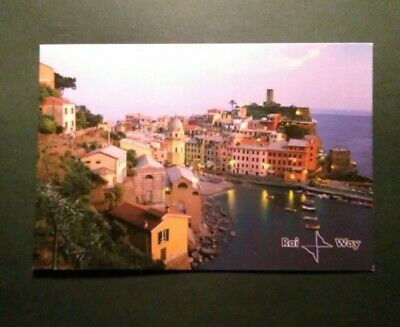 Cartolina QSL Rai Way immagine di VERNAZZA