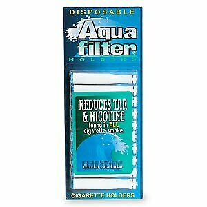 Aqua Filter Disposable Water Filtered Holders 10 ea