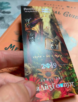 Much Love, 1 Burning Man Ticket, free overnight shipping until Aug 23
