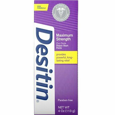 Desitin Maximum Strength Baby Diaper Rash Cream With 40% Zinc Oxide, 4 Oz