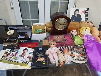 Vintage Antique Retro Car Boot Joblot Vintage Dolls Signed Cricket Cards