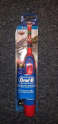 Oral-B Stages Power Cars Kids Childs Rechargeable Electric Toothbrush