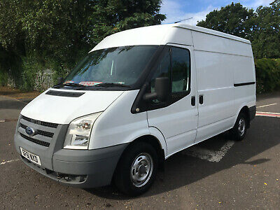 2011/61 Ford Transit 2.2Tdci Mwb High Roof T300 115Bhp/No Vat To Add/Only 77K