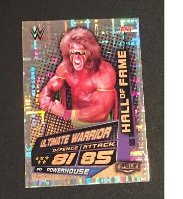 Topps Slam Attax Universe 2019 The Ultimate Warrior Hall of Fame card