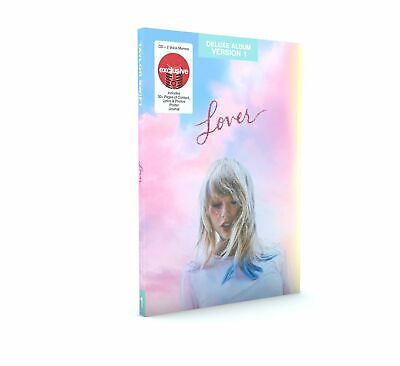 TAYLOR SWIFT - LOVER Target Exclusive Deluxe Album Version 1,2,3 or 4. NEW.