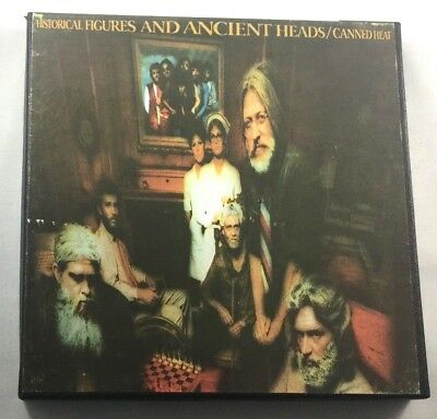 RARE Canned Heat Historical Figures & Ancient Heads Reel Guaranteed 3-3/4ip Mint