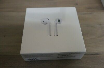 NEW SEALED Apple AirPods 2nd Generation with Wireless Charging Case - White