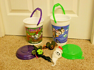 Disney Parks Popcorn buckets & antenna toppers holiday lot. Halloween,Christmas