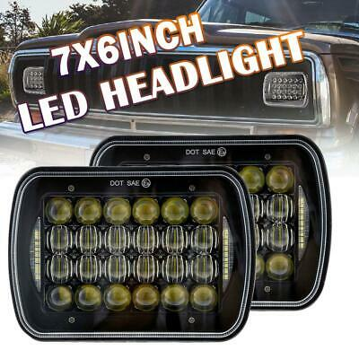 """2Pcs LED Upgrade Head Light 5X7"""" Headlight Replacement Hi/Lo H4 for Toyota Hilux"""