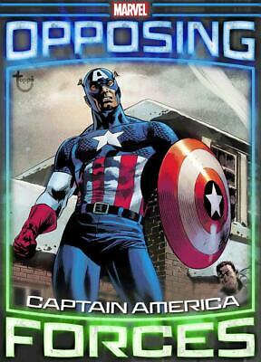 Topps Marvel Collect Opposing Forces Week 1 Captain America Red Skull [DIGITAL]