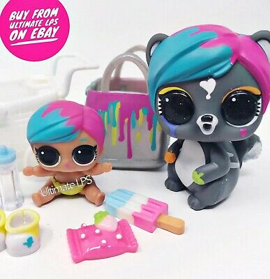 LOL Surprise Dolls Lil Splatters & Splatters Pet  * NEW