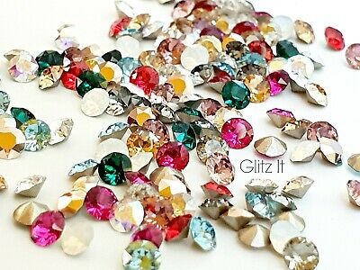 Swarovski 1088 Chatons Pointy Back Crystals for Nails Jewellery - Select Colour