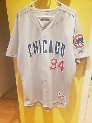 Chicago Cubs Kerry Wood Authentic Away Jersey size 48