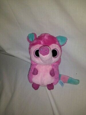 """6"""" cute soft noise making pink anteater yoohoo and friends aurora plush doll"""