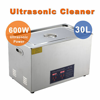 Professional 30L Ultrasonic Cleaning Jewelry Cleaner Machine with Heater cfl