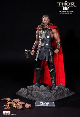 Hot Toys MMS225 - Thor The Dark World (Light Armour Version) 1/6 scale Figure-UK