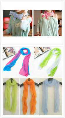 AU SELLER Lovely Women's Girl's Soft Thin Style Wrap SCARF/SHAWL sc082