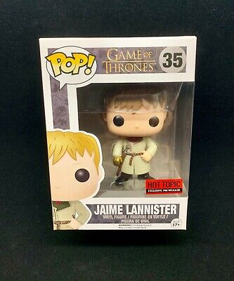 Funko Pop! Game of Thrones Jaime Lannister Golden #35 Hand Gold Ship Fast New
