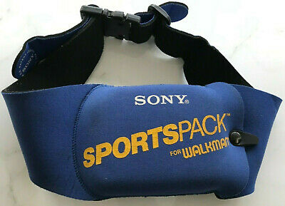 Sony Sportspack for Walkman Retro Vintage Fanny / Waist Pack Neoprene