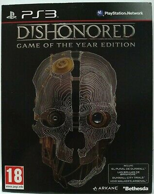 Dishonored. Game Of the Year Edition. Ps3. Fisico. Pal Esp