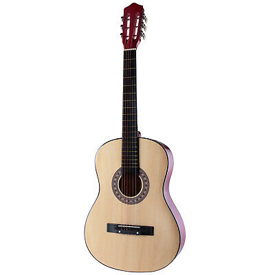 Acoustic Guitar with Case, Strap, Tuner& Pick Steel Strings Beginner