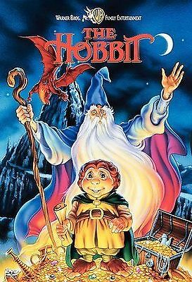 NEW FACTORY SEALED  THE HOBBIT - ANIMATED MOVIE - DVD (2001) JRR Tolkien