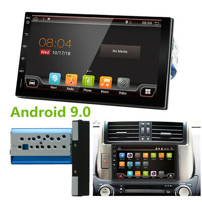 "7"" Android 9.0 4K Stereo Radio Auto 1Din Player Octa-Core 4GB/64GB HDMI GPS Wifi"